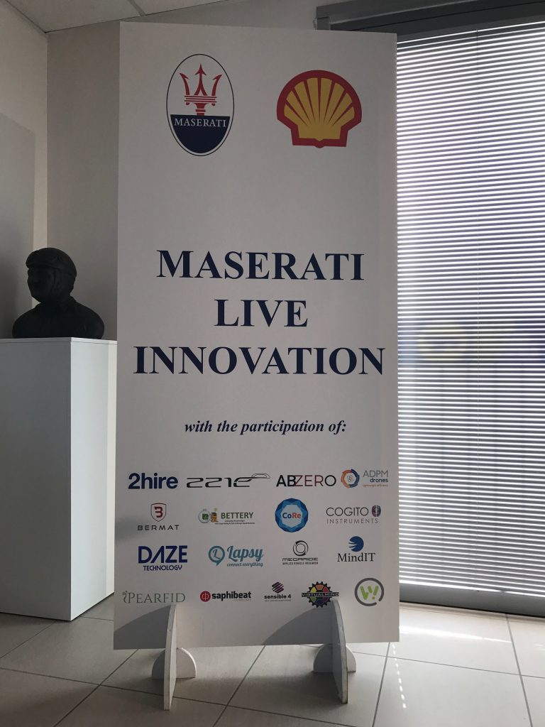 Cogito Instruments invited to the Maserati Innovation Day