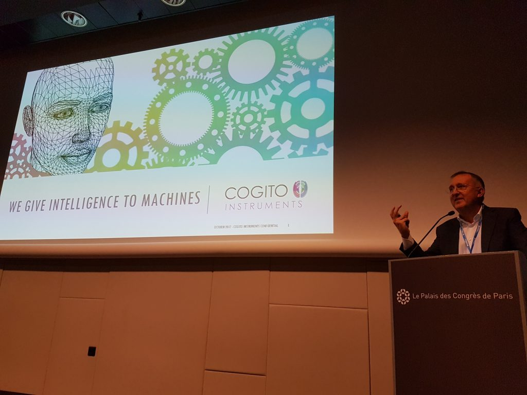 Cogito Instruments team at the conference of Embedded Systems and Industrial Internet.