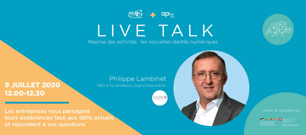 Live Talk with Philippe Lambinet – New digital realities