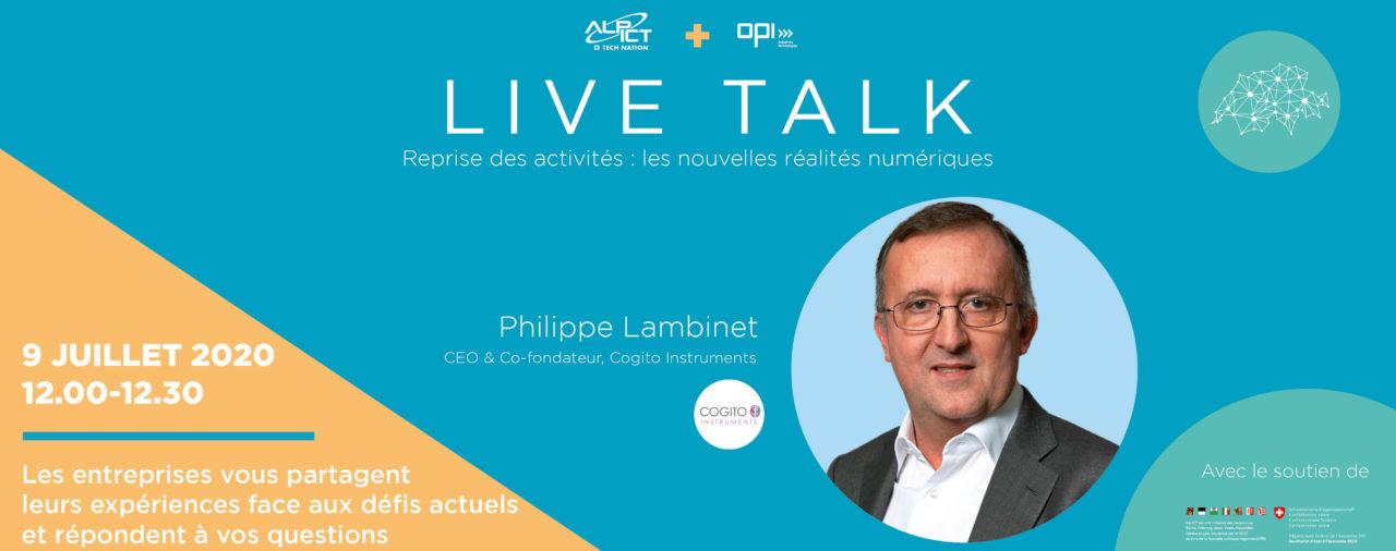 Live Talk with Philippe Lambinet - New digital realities